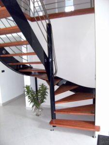 pose escaliers bois Audincourt